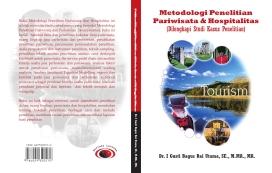 Cover Buku Metodologi Pariwisata